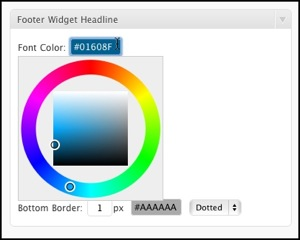 WordPress Color Scheme