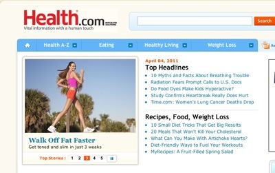 Reader Profile Example  Health dot com